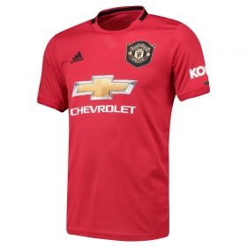 Manchester United Home Shirt 2019 - 20 with Dalot 20 printing