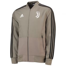 Juventus Training Woven Presentation Jacket - Green