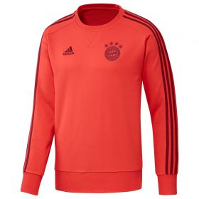 Bayern Munich Training Sweat Top - Red