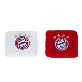 Bayern Munich Wristbands - Red