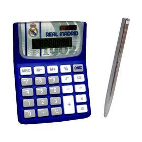 Комплект Калкулатор С Химикал REAL MADRID Calculator & Pen Set