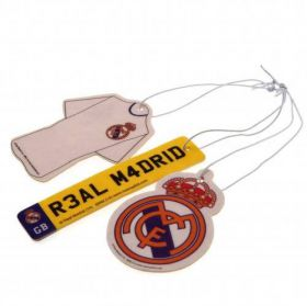 Комплект Ароматизатори REAL MADRID 3pk Air Freshener