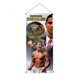 Флаг REAL MADRID Cristiano Ronaldo Big Pennant