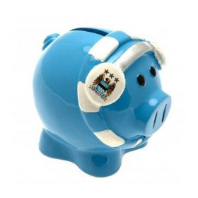 Касичка MANCHESTER CITY Scarf Piggy Bank