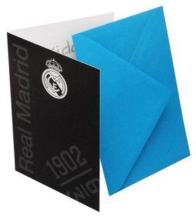 Картичка REAL MADRID Greetings Card BK