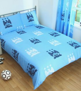 Спално Бельо MANCHESTER CITY Reversible Double Duvet Set BE