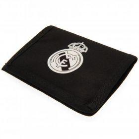 Портмоне REAL MADRID Nylon Wallet BK