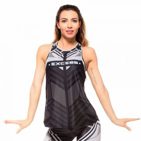 Дамски Потник EX FIT Training Top Geometric