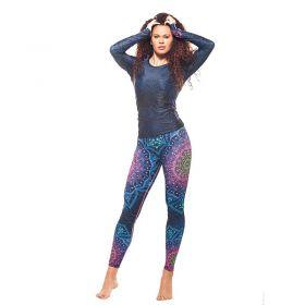 Дамски Комплект Клин / Блуза EX FIT Sport Kit Mandala