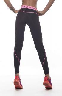 Дамски Клин EX FIT Legging Black&Pink Line