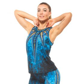 Дамски Потник EX FIT Training Top Golden Mandala