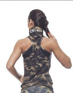 Дамски Елек EX FIT Training Vest Camouflage