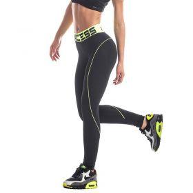 Дамски Клин EX FIT Legging Black&Neon Line