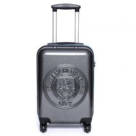 Manchester City Travel Suitcase - Carbon - Cabin Sized