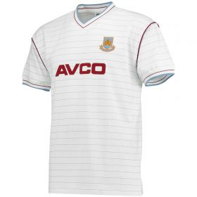 West Ham Utd 1986 Avco Away Shirt - White