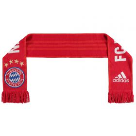 Bayern Munich Fans Home Scarf - Red