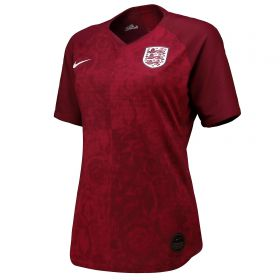 England Away Vapor Match Shirt 2019-20 - Women's with Scott 8 printing