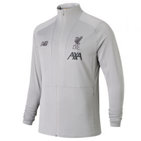 Liverpool Travel Knitted Jacket - Lt Grey
