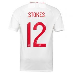 England Home Stadium Shirt 2018 with Stokes 3 printing