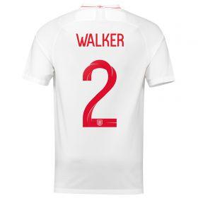 England Home Stadium Shirt 2018 with Walker 2 printing