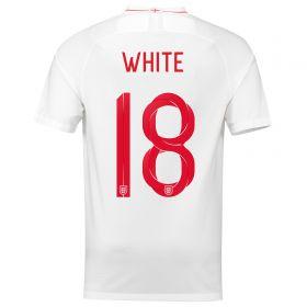 England Home Stadium Shirt 2018 with White 9 printing