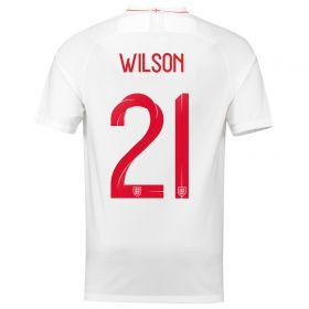 England Home Stadium Shirt 2018 with Wilson 23 printing