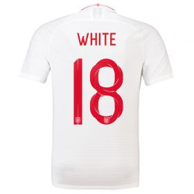 England Home Vapor Match Shirt 2018 with White 9 printing