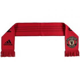 Manchester United Fans Home Scarf - Red
