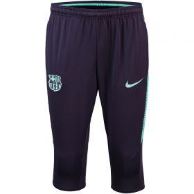 Barcelona Squad 3/4 Pant - Purple