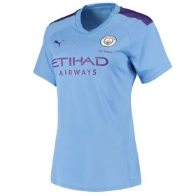 Manchester City Authentic Home Shirt 2019-20 - Womens with Fernandinho 25 printing