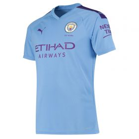 Manchester City Authentic Home Shirt 2019-20 with De Bruyne 17 printing