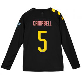 Manchester City Cup Away Shirt 2019-20 - Long Sleeve - Kids with Campbell 5 printing