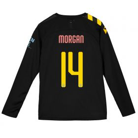 Manchester City Cup Away Shirt 2019-20 - Long Sleeve - Kids with Morgan 14 printing