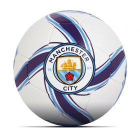 Manchester City Future Flare Mini Ball - White