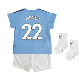 Manchester City Home Baby Kit 2019-20 with Mendy 22 printing