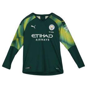 Manchester City Home Goalkeeper Shirt 2019-20 - Kids with Ederson M. 31 printing