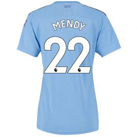Manchester City Home Shirt 2019-20 - Womens with Mendy 22 printing