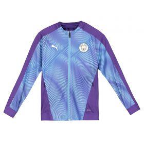 Manchester City Stadium Jacket - Purple - Kids