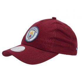 Manchester City Team Cap - Burgundy
