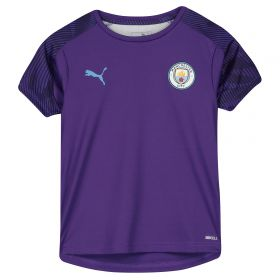Manchester City Training Jersey - Purple - Kids