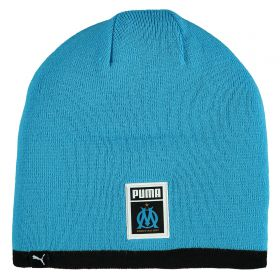 Olympique de Marseille Reversible Beanie - Black