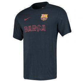Barcelona Match T-Shirt - Dk Blue