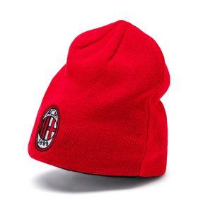 AC Milan Reversible Beanie - Red