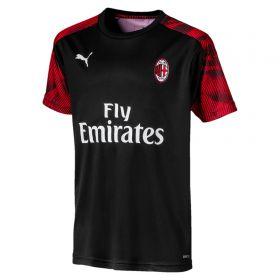 AC Milan Training Jersey - Black - Kids