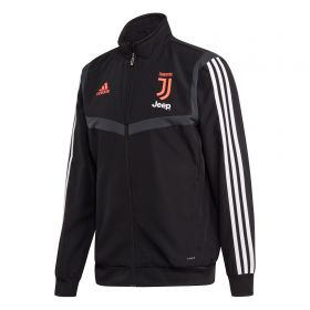 Juventus Pre Match Jacket - Black