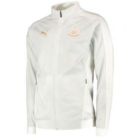 Newcastle United Stadium Jacket - White