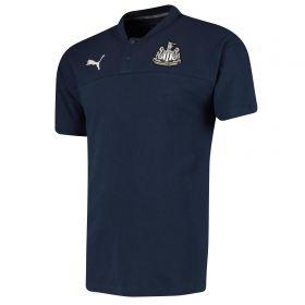 Newcastle United Casuals Polo - Dark Blue