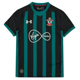 Southampton Away Shirt 2017-18 - Kids with Bertrand 21 printing