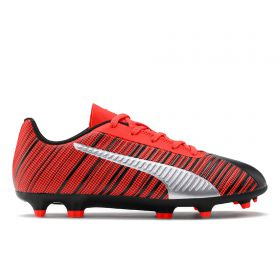 Puma One 5.4 Firm Ground Football Boots - Black - Kids