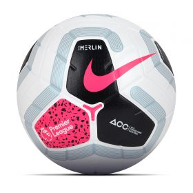 Nike Premier League Merlin Official Match Football - White